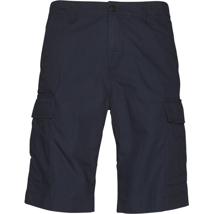 Regular Cargo Shorts - Shorts - Regular - Blå